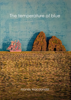 The temperature of blue